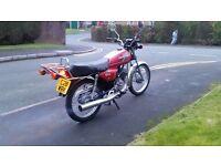 Honda h100 low mileage h100s