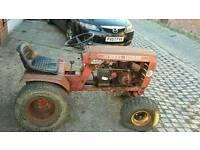 Wheel horse tractor