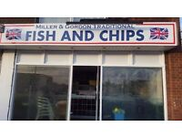 BRAND NEW FISH AND CHIP SHOP in urgent need of both a CHEF/FRYER and GENERAL WORKER