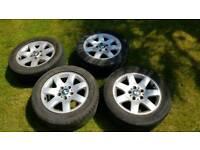 "Bmw e46 5x120 16"" alloy wheels"