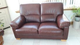 Archibalds Brown Leather suite