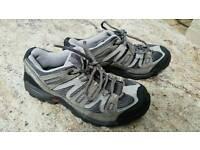 Salomon walking boots size 6.5