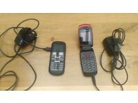 a couple of old phones