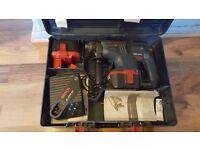 Bosch GBH 24VRE 24v volt Cordless Hammer Drill SDS Plus 2x Battery