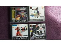 PlayStation 1 Sports games ×4