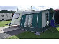 Caravan awning (to fit a 12 foot long caravan)