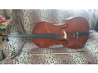 Stentor Mark II cello for sale.