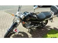 Yamaha YBR 125 Custom Great Learner/City Commuter
