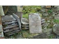 Small Redland size roof tiles reclaimed