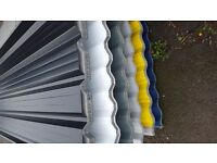 LIMITED OFFER BOX PROFILE SHEETS CORRUGATED ROOFING SHEETS £12 EACH