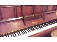 Upright piano ideal for learners and children.