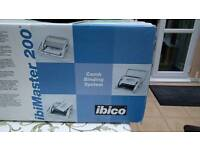 Ibeco 200 Combe Binding machine