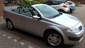 Convertible Megane Renault with low Mileage