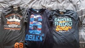 Superdry xxl t-shirts x 3 (fit if you normally wear XL)