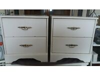 Dressing Table with 2 Bedside Cabinets
