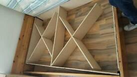 Kingsize mattress with frame