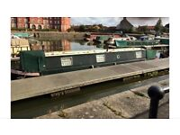 Narrow boat in London to rent