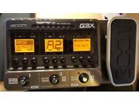 Zoom G3x guitar processor