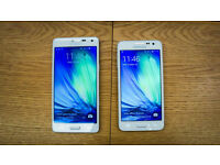 Samsung Galaxy A5 Pearl White 16g Open to all Networks
