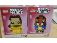 Lego beauty and the beast brick headz