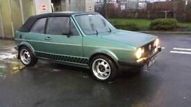 mk1 golf gti cabrio 1983