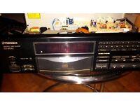Pioneer PD-8700 CD Player - Stable Platter Mechanism
