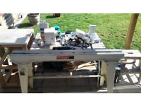 Axminister woodworking lathe