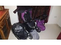 Oyster Max single travel system great condition