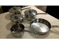 5 piece saucepan set