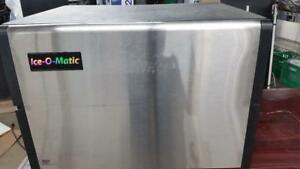 Commercial Ice Machine - Ice O Matic - Ice Head and Bin - 336 pounds in 24 hours