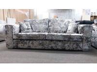 Brand New - Four seater Buckingham Lustro Sofa