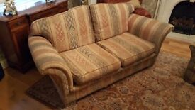 Sofa and Single Chair in good condition