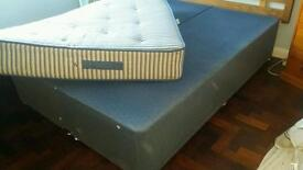 Bed base double