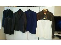 Bundle of jackets/shirts/waistcoats