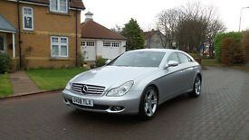 2008 MERCEDES-BENZ CLS CLASS 3.0 CLS320 CDI 4d AUTO 222 BHP, LEATHER TRIM, SAT NAV, PARKING SENSORS