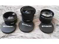 3 poloroid lenses