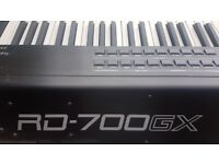 Roland RD-700GX Stage Piano and practise amp - Excellent condition, never gigged
