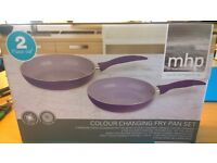 New couloir changing fry pan set