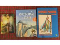 Polish primary school books grades levels P4-P7for lockdown home schooling