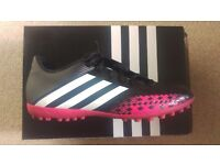 Men's Adidas Football Trainers - as new in box size 9.5
