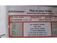 2 x Tom Odell tickets Manchester 02 Apollo 9 November (standing)