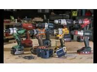 Power tool and battery repair