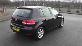 Volkwagen Golf 2.0Tdi S Mk6 F.S.H New Tyres New Brakes Lady Owner