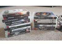 PS3 320 GB 3 original Sony Controller with various games