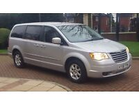 New shape 2008 Chrysler Grand Voyager 7 seater 2.8 CRD AUTO Touring with stow n go seats, FSH