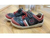 5de8c8fe22 Size 9 and a half boys Clarks shoes  geox sandals