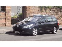 2006 Peugeot 307SW SE 1.6 HDI 7 Seater, Full Peugeot Service History, One owner from New!