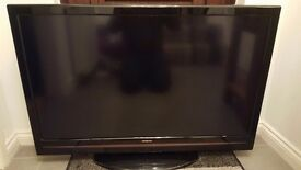 "42"" full HD 1080p LED Hitachi tv"