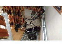 Mamas and Papas 03 Sport stroller - with Primo Viaggio car seat
