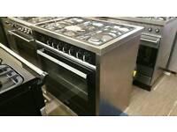 CDA 90cm dual fuel range cooker !!